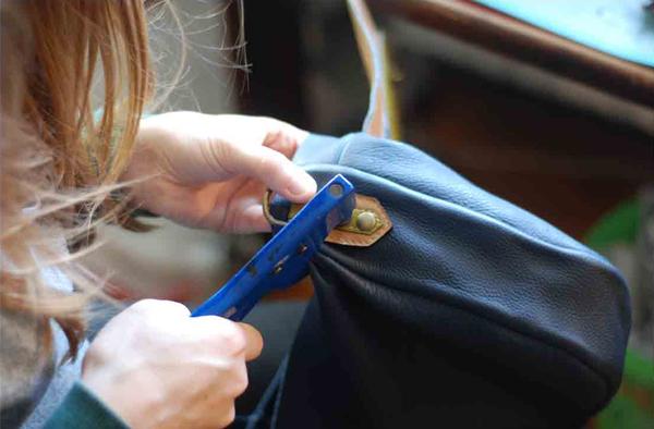 Atelier Sacs cuir de Créateur Menthe Poivrée