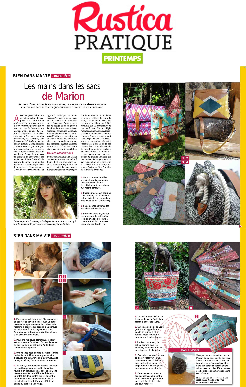 Interview Rustica Pratique - Menthe Poivrée